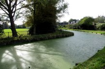 The original course of the New River, Enfield