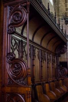 Choir Stalls, Le Folgoet Church