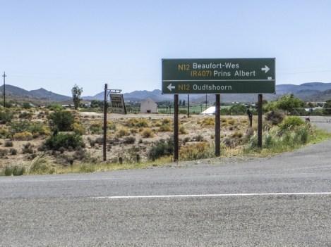 The main, tarred road!