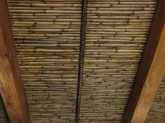 Reed ceiling in the Schreuderhuis