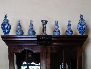 Blue & White Japanese ware in the Bletterman House