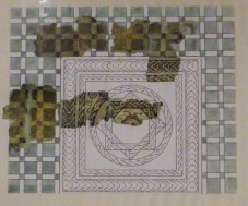 Roman mosaics in the Archaeological Museum, Vila Vicosa
