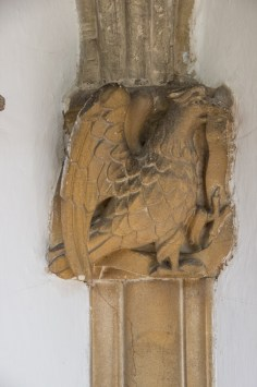 Carvings on the South Porch, Fressingfield Church