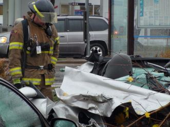 multi-vehicle crash