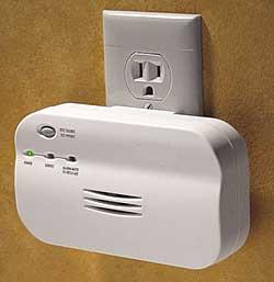 Wall-Monoxide-Alarm