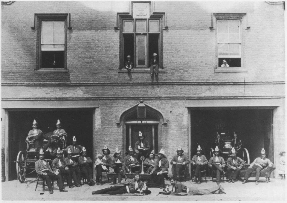 London Fire Hall C 1873 King St.