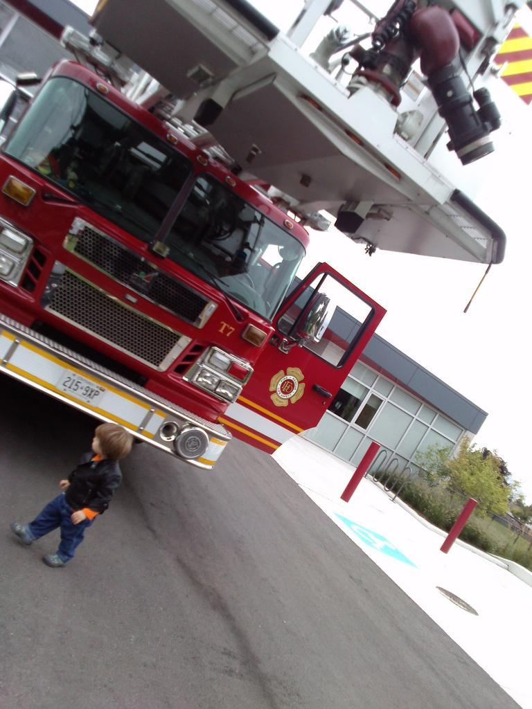Checking out Truck 7