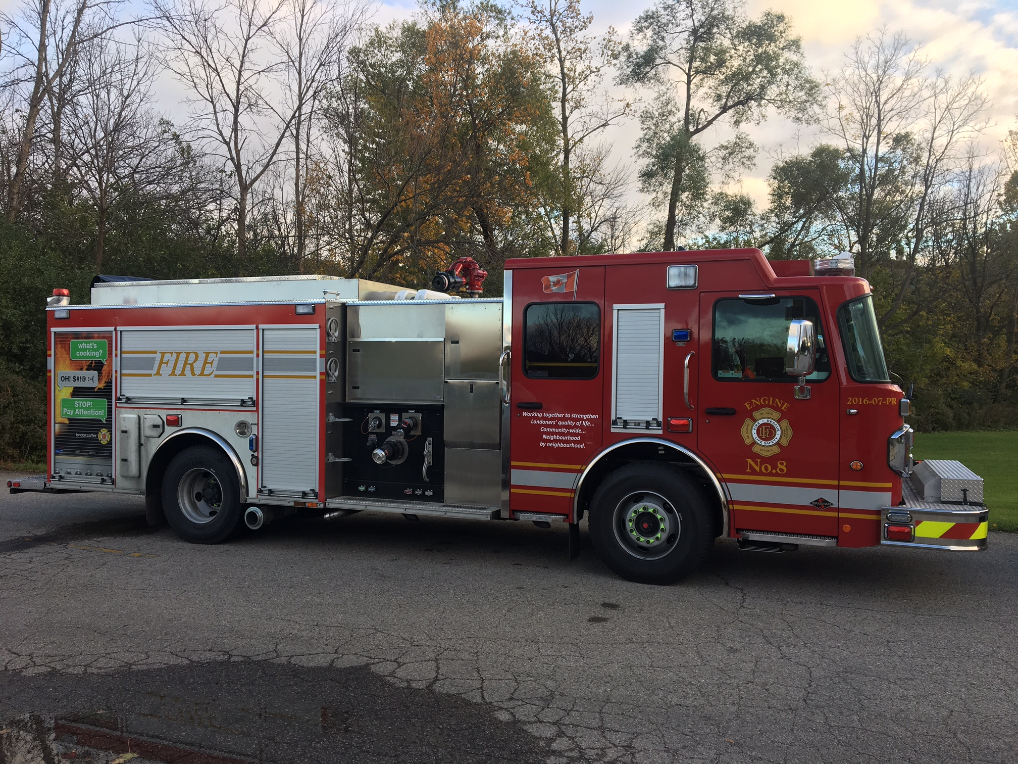 New 2016 Carl Thibault Pumper Rescue - Engine 8