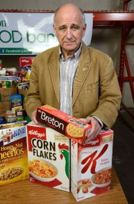 Glen Pearson at the London Food Bank which is marking its 30th year in London, Ontario. Photo taken on Thursday April 6, 2017. MORRIS LAMONT/THE LONDON FREE PRESS /POSTMEDIA NETWORK