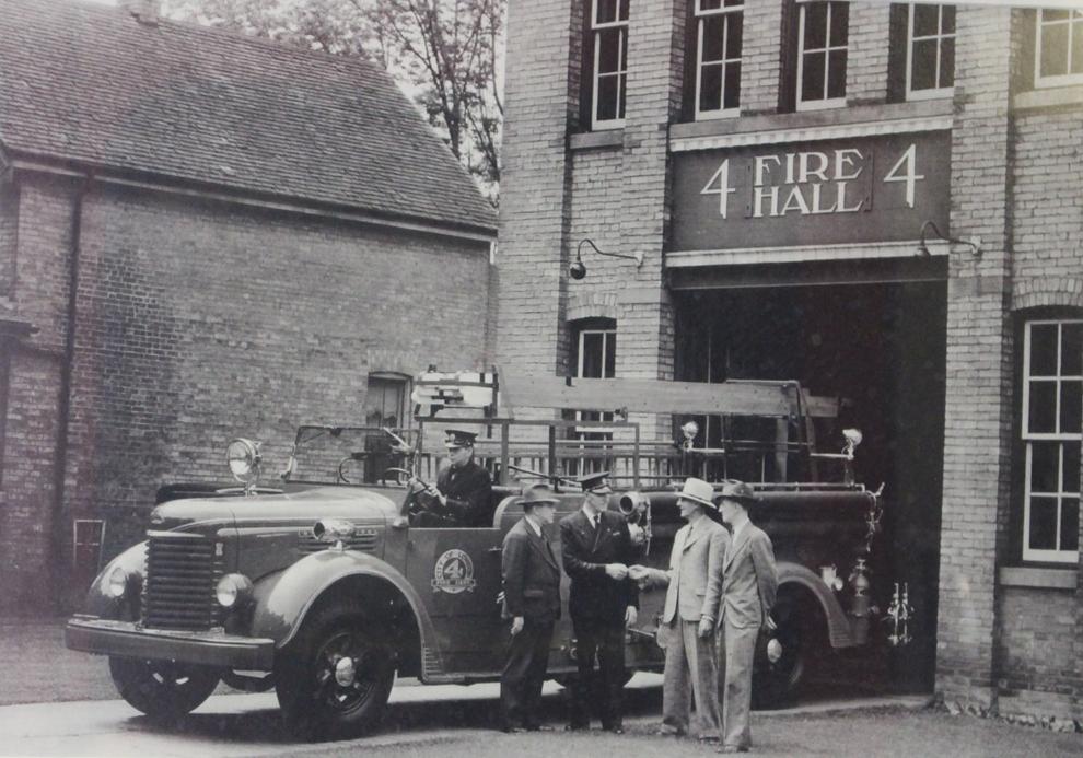1942 Bickle Seagrave Fire truck