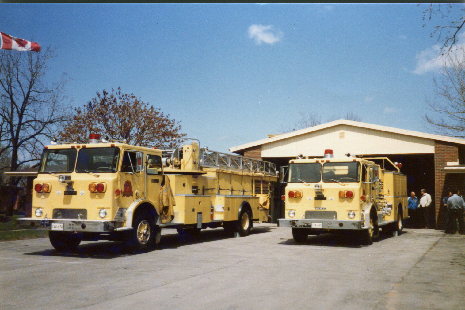 Engine 7 and Truck 7