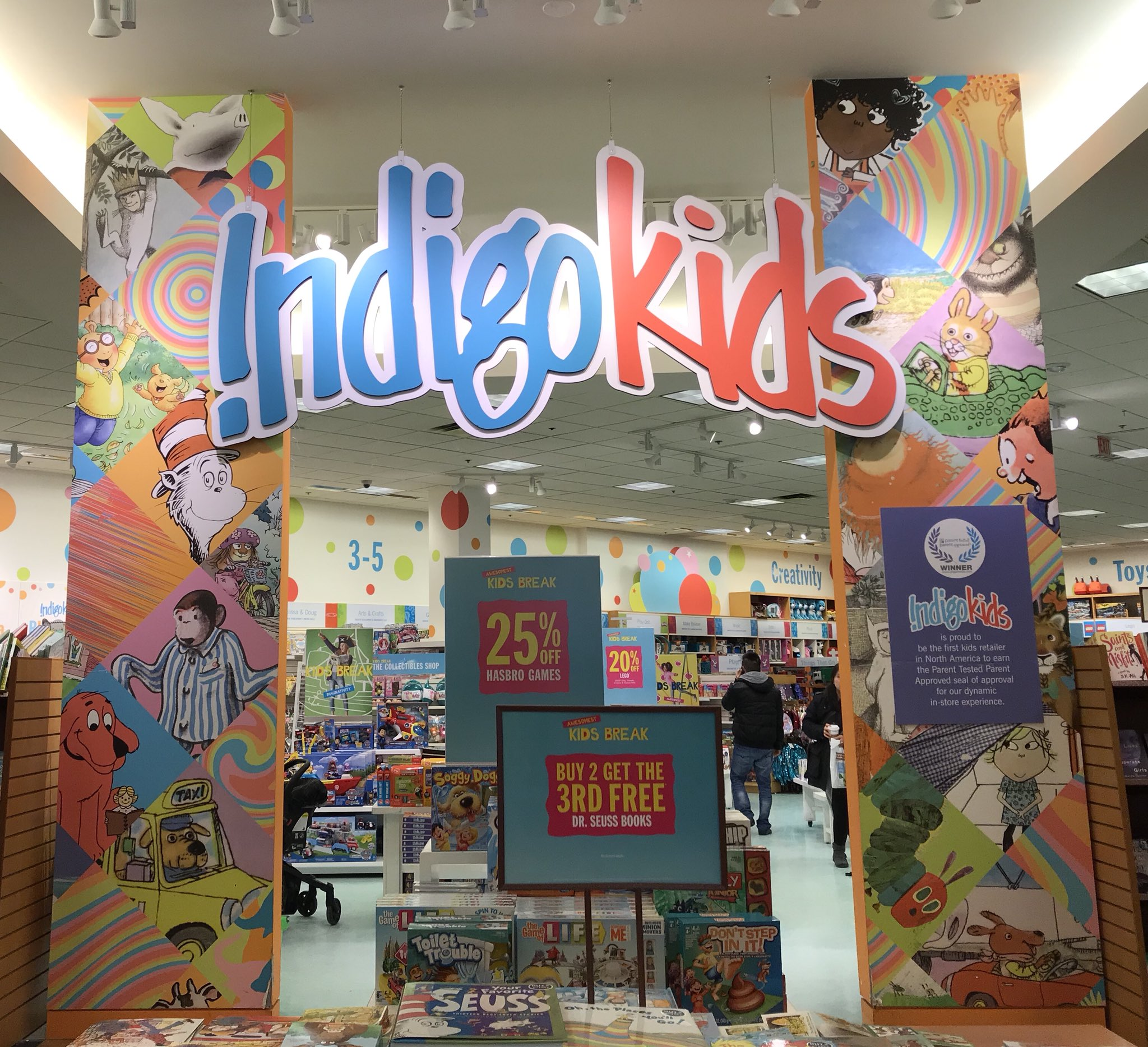 Thank You Chapters & Indigo Kids