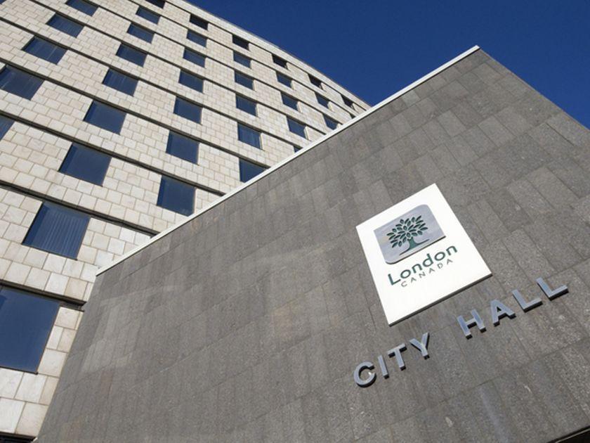 City Hall of London Ontario