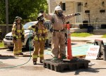 London police and firefighters had to be decontaminated after entering a suspected drug lab in a townhouse complex near London's eastern edge, on Hamilton Road near Gore Road. Photo taken Wednesday June 12, 2019. (Max Martin/The...