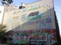 Graff art at the local university.