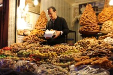 Dates, dried fruits, nuts and sweets galore!