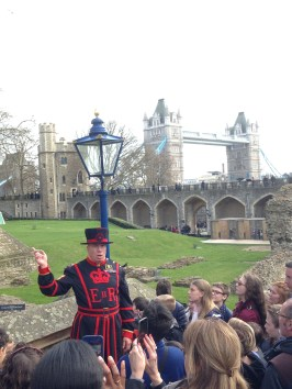 Yeoman Warder tour - a real treat if you're visiting