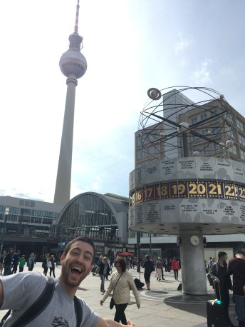 The tower and world clock- we're excited!