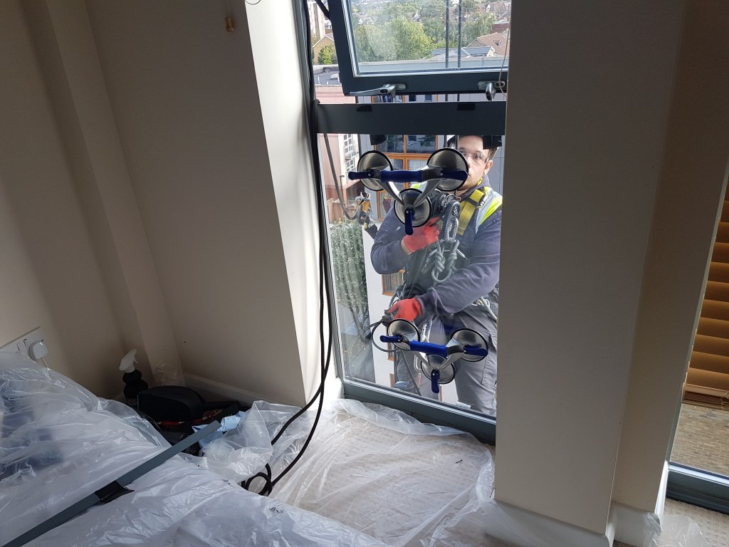 high level residential glazing