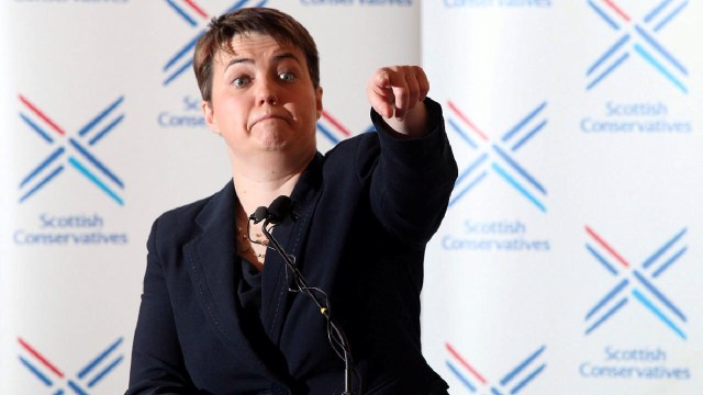 Scottish Conservative Leader, Ruth Davidson