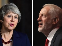 Jeremy Corbyn, Theresa May, Brexit, Politics