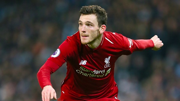 Liverpool FC, Football, Premier League, Champions League, Andy Robertson