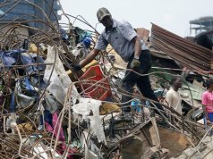 Nigeria, Lagos, School Building Collapse