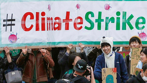 Climate Change, Strike, Environment
