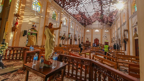 Sri Lanka, Abdul Lathief Jameel Mohamed, Bombing