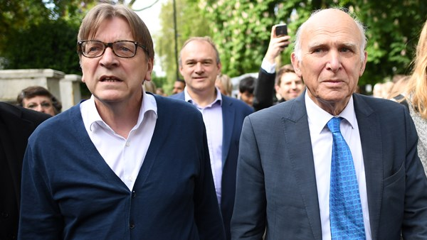 Guy Verhofstadt, EU, European Union, Brexit, Politics, Liberal Democrats