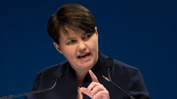 Ruth Davidson, Brexit, EU, Referendum, Scottish National Party, Politics