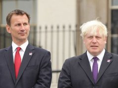 Boris Johnson and Jeremy Hunt go head to head in Tory Leadership race
