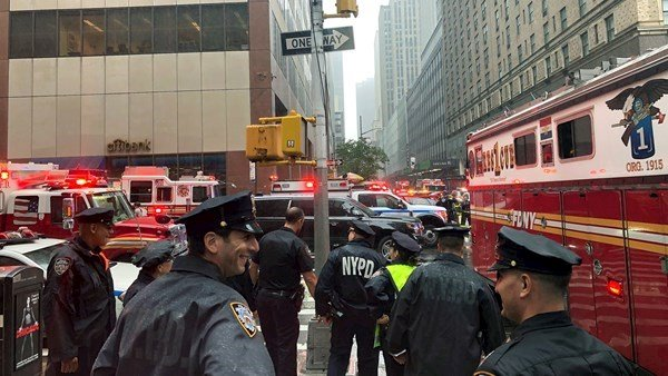 New York, Manhattan, Helicopter Crash, U.S.
