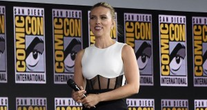 Scarlett Johansson plays as Black Widow in Marvel Cinematic Universe.