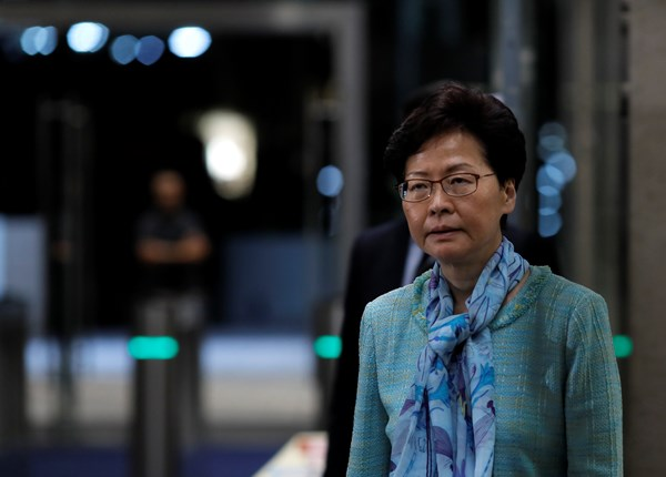Hong Kong Leader carrie lam