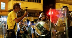 China warns protesters in Hong Kong they will be punished for continued strike.