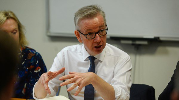 Michael Gove says the government is working on a no-deal Brexit.