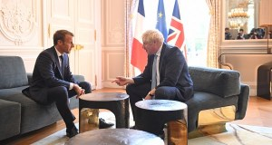 Boris Johnson and Emmanuel Macron still have clear differences in opinion over Brexit.