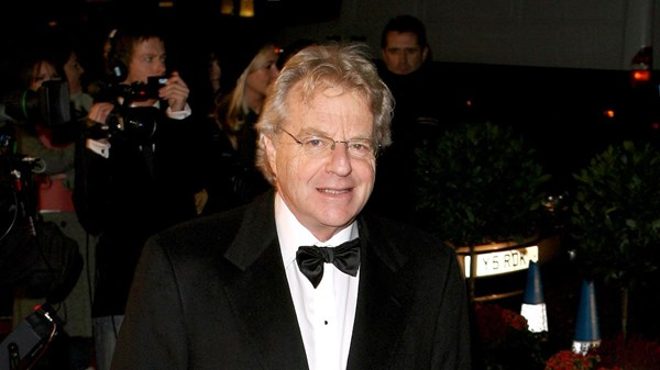 Jerry Springer from his tabloid show.
