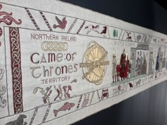 Game of thrones tapestry is in Bayeux