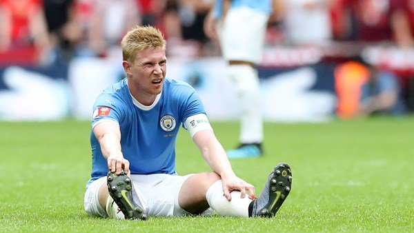 Kevin De Bruyne absent for Dinamo game
