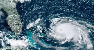 Hurricane Dorian heading towards Bahamas and Florida