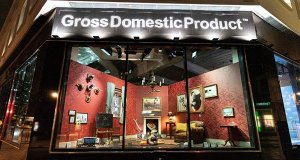 Banksy opened a shop called Gross Domestic Product