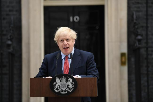 Boris Johnson, Politics, Coronavirus