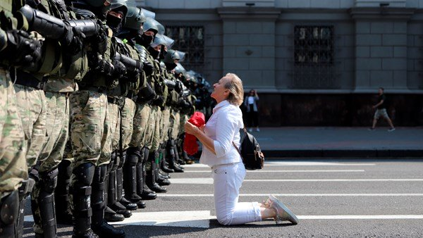 Minsk and Belarus have protests occurring