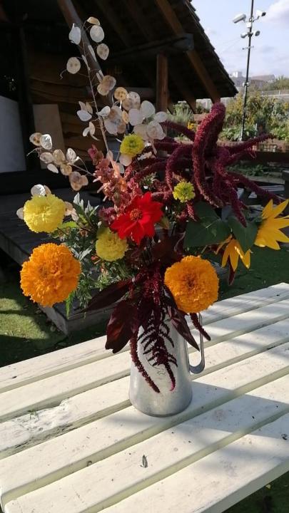 Best bouquet winner - Spitalfields City Farm