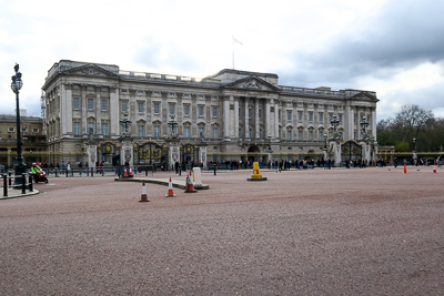 Buckingham Palace, home of Queen Elizabeth since 1937