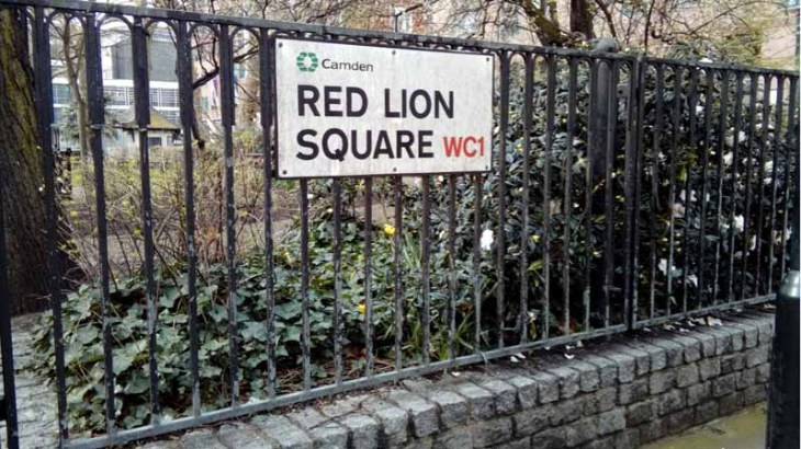 Red Lion Square by Jo Wilkinson