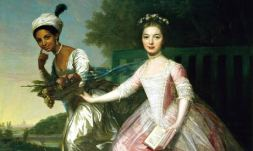 The 18th century portrait of Belle and her cousin that inspired the film
