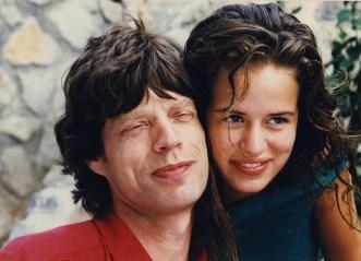 Mick and Jade Jagger